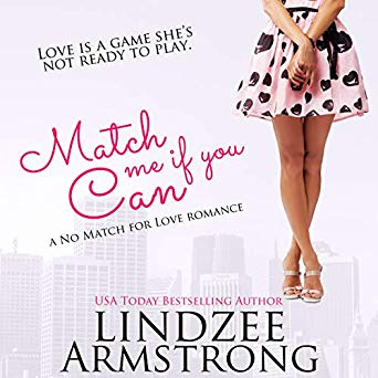 Review: Match Me If You Can, No Match For Love 7 by Lindzee Armstrong, narrated by Tiffany Williams.This is a sweet Sports Romance. With Narrator Interview!