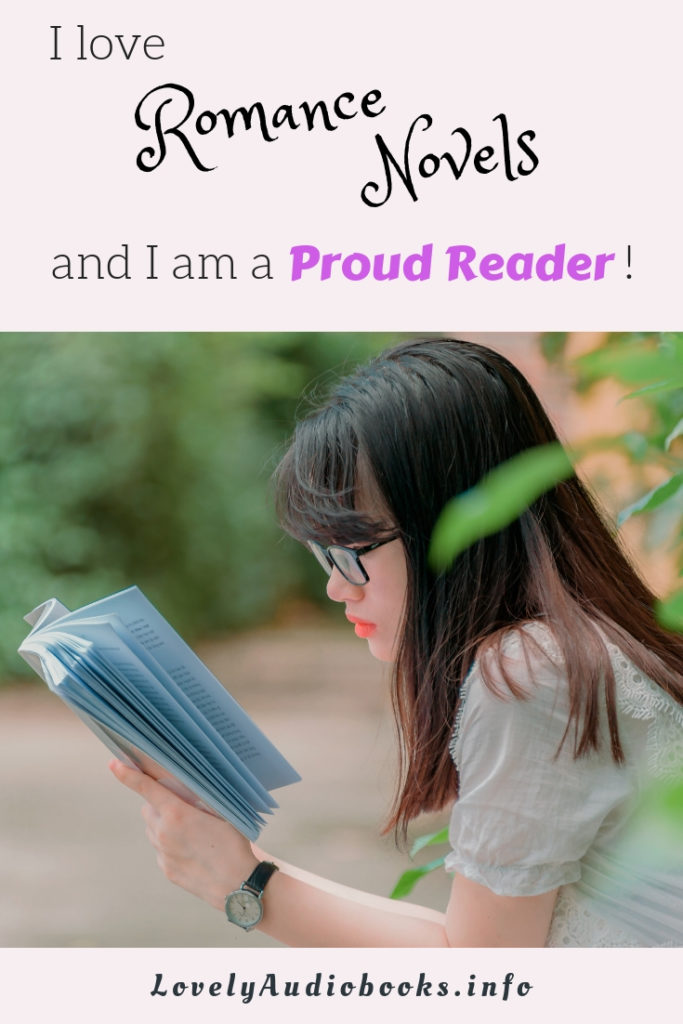 I love Romance Novels and I am a proud reader!