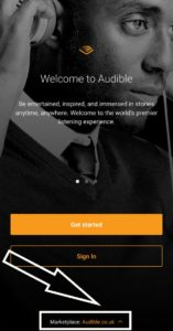How to use Audible.com in your phone app: marketplace