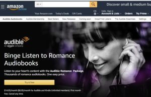 Lovely Audiobooks guide to the Romance Package for EU listeners