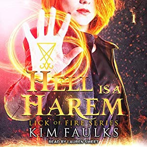 Weekly audiobook deals on Lovely Audiobooks: cover of Hell is a Harem by Kim Faulks