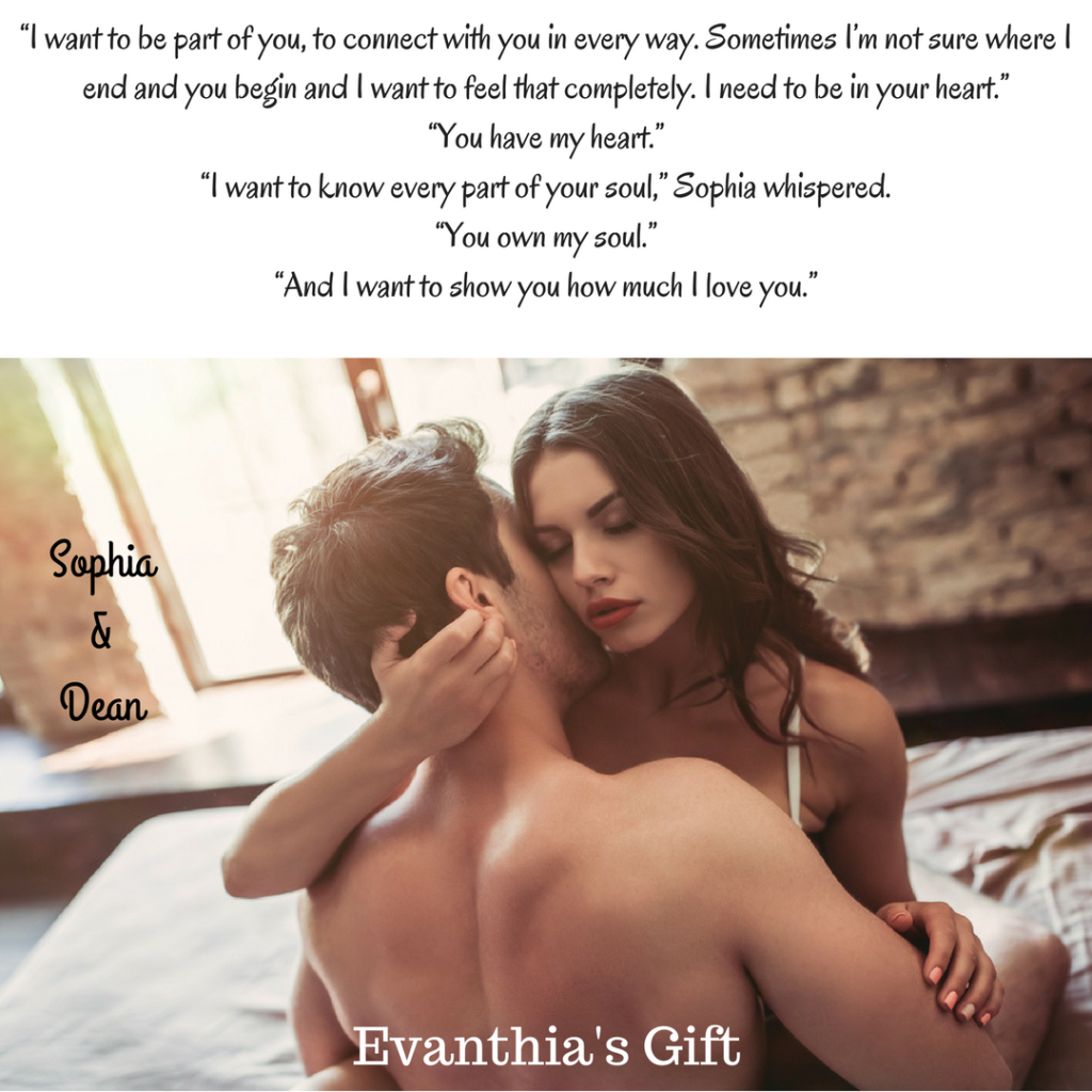 Sophia & Dean - Quote from: Evanthia's Gift by Effie Kammenou
