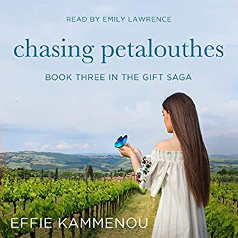 Chasing Petalouthes, The Gift Saga book 3, by Effie Kammenou