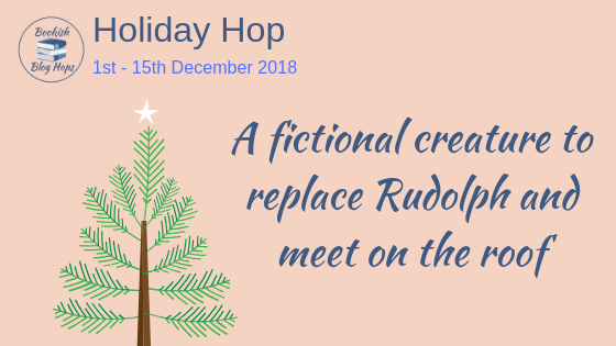 A fictional creature to replace Rudolph and meet on the roof