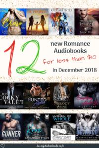 New cheap Romance audiobooks in December