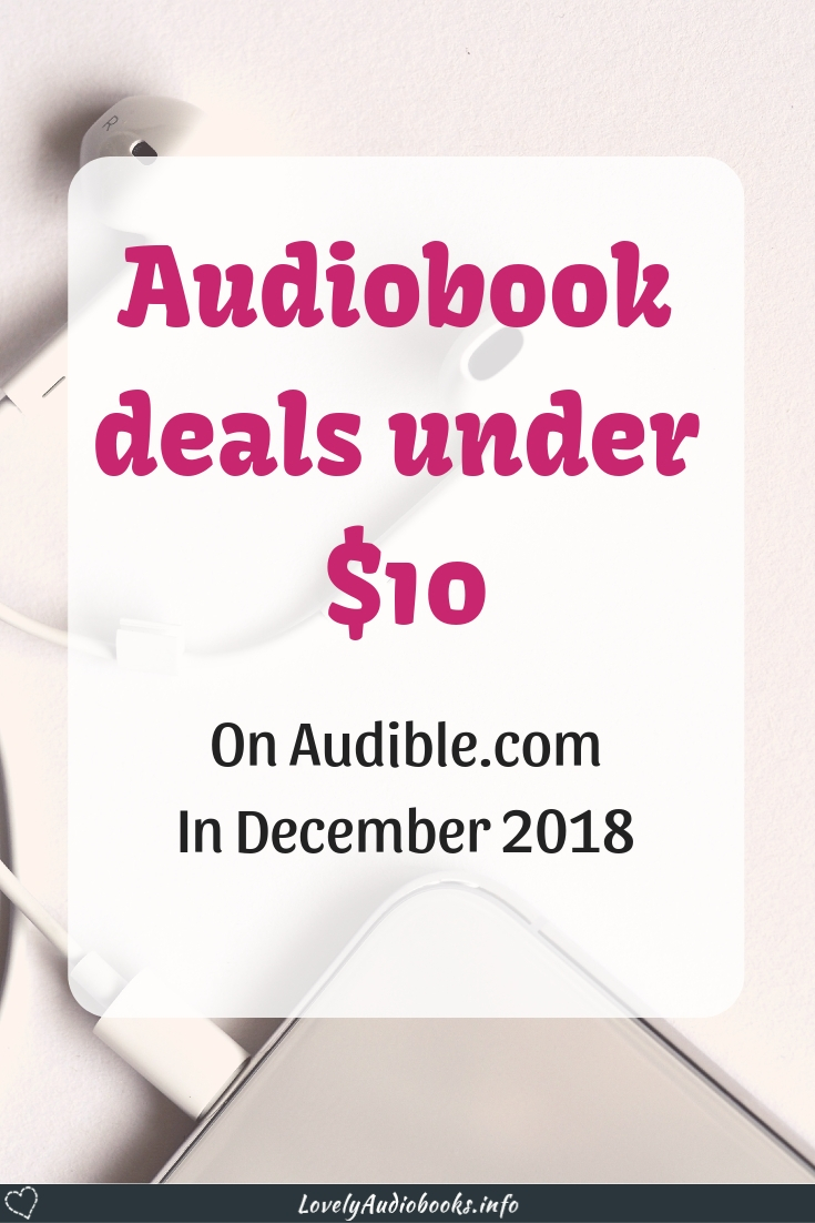 Audiobook deals under $10 in December 2018 on Audible