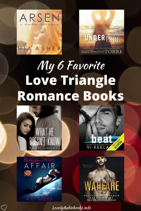 My 6 favorite Love Triangle Romance Books