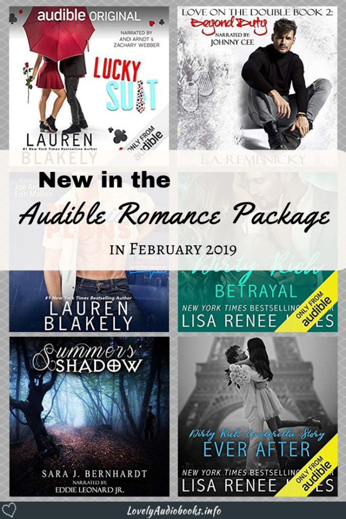 Check out the best audiobooks released in the Audible Romance Package this month and find the best new reads for women, for adults and for teens. Find a new romance favourite, pick up a new fiction author or narrator, try a fantasy audiobook, or even a bit of a mystery romance. Satisfying your urge for something romantic with the latest Audible audiobook releases. Click to see all! #audible #audiobooks #romancenovels
