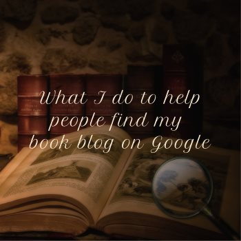 How people find my book blog on Google