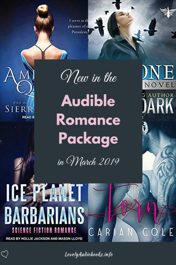 "Check out the best audiobooks added to the Audible Romance Package in March 2019. Find the best new reads for women, for adults and for teens that you can listen to for free with your unlimited audiobook subscription. New releases from bestselling authors like Kristen Ashley and Laurelin Page, and favorite books like ""Always and Forever, Lara Jean"", the Crossbreed series, or ""The Summer that made us"". #audible #romance #audiobooks"