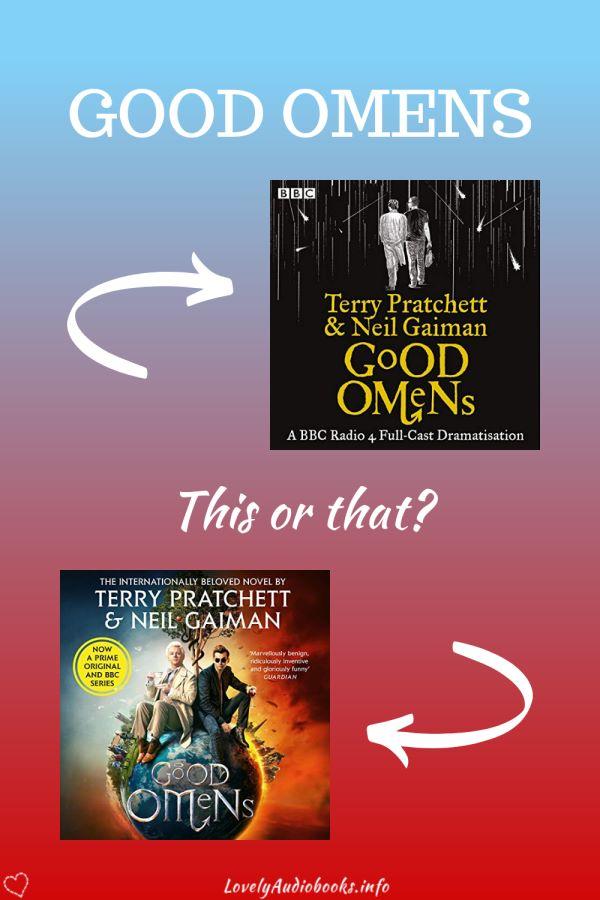 Good Omens audiobooks comparison