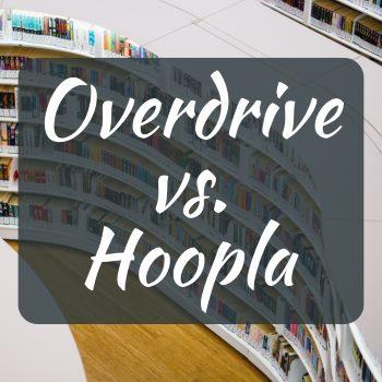 Library Audiobooks: Overdrive vs Hoopla | Lovely Audiobooks