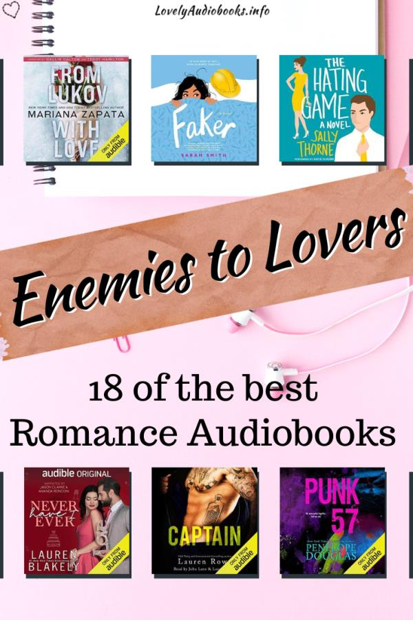 18 of the Best Enemies to Lovers Books on Audible
