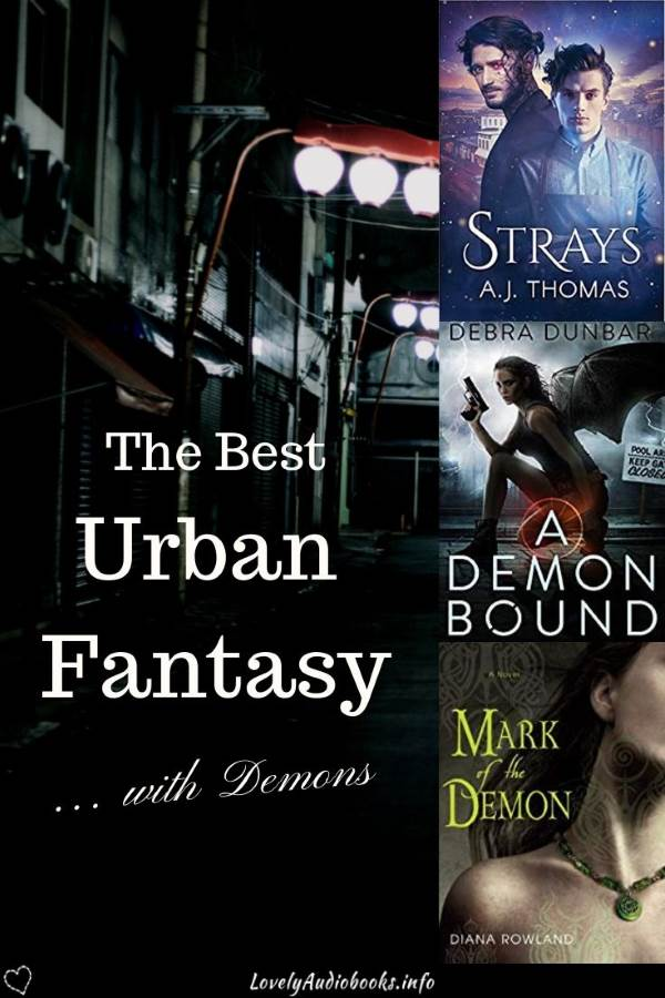 The Best Urban Fantasy Books with Demons