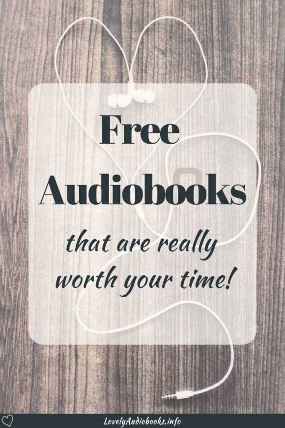 Free Audiobooks that are worth your time!