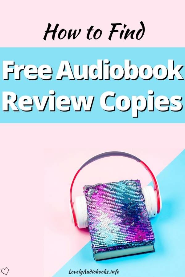 How to get free audiobook review copies