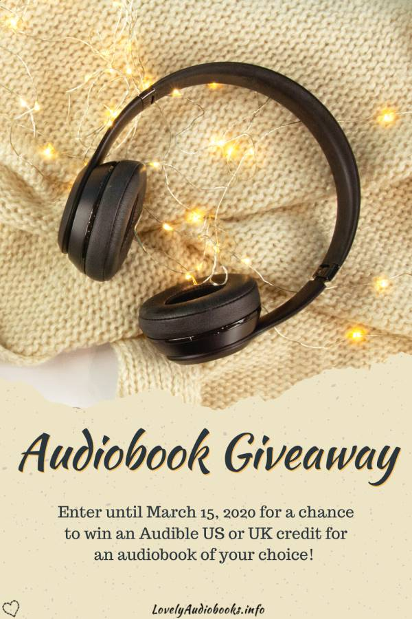 Audiobook Giveaway: Win an Audible credit for an audiobook of your choice!