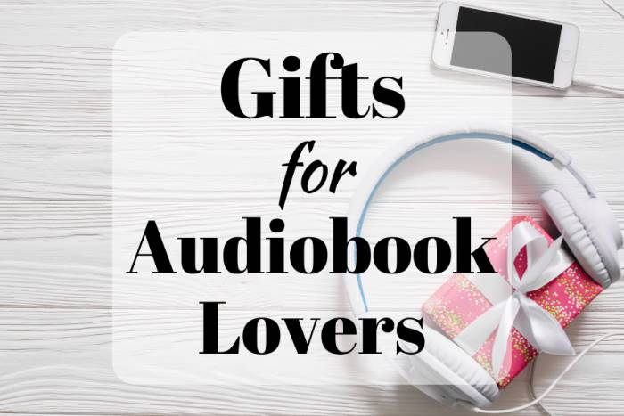 Gifts for Audiobook Lovers