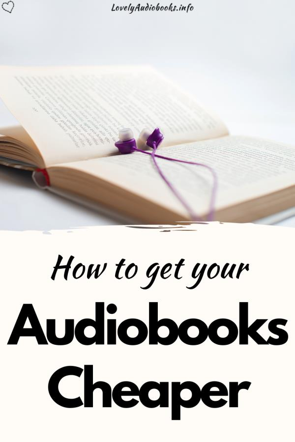 How to get your audiobooks cheaper