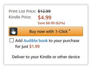 Amazon's Whispersync: cheap audiobooks in a package deal