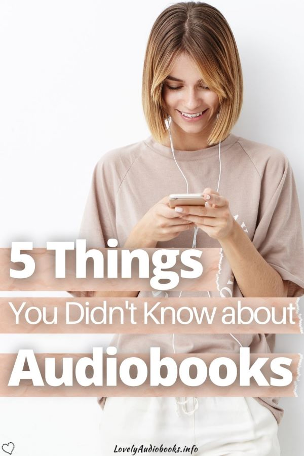 facts about audiobooks