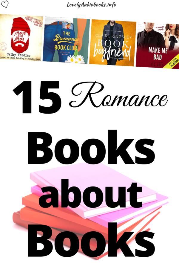 15 Romance books about books