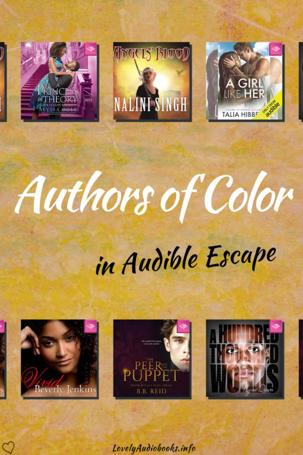 Audio Books by Women of Color in Audible Escape