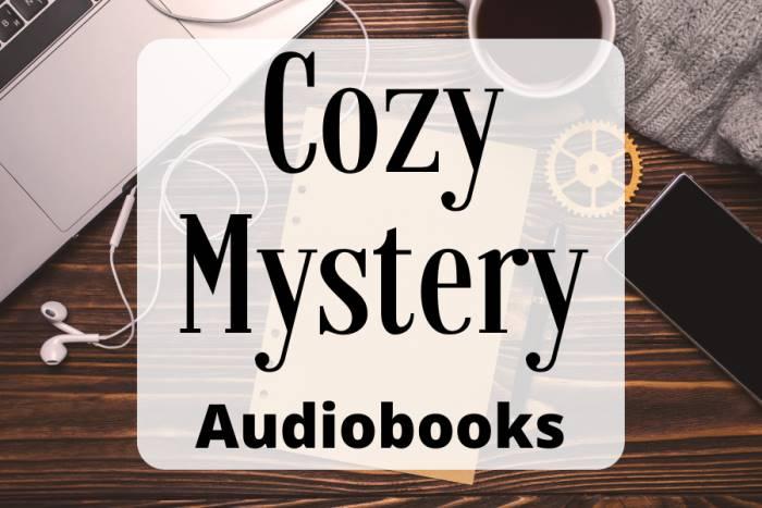 cozy mystery audiobooks