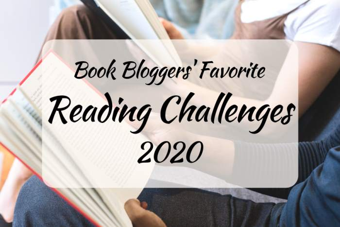 Book Bloggers' Favorite Reading Challenges 2020: Bookish Blog Hop