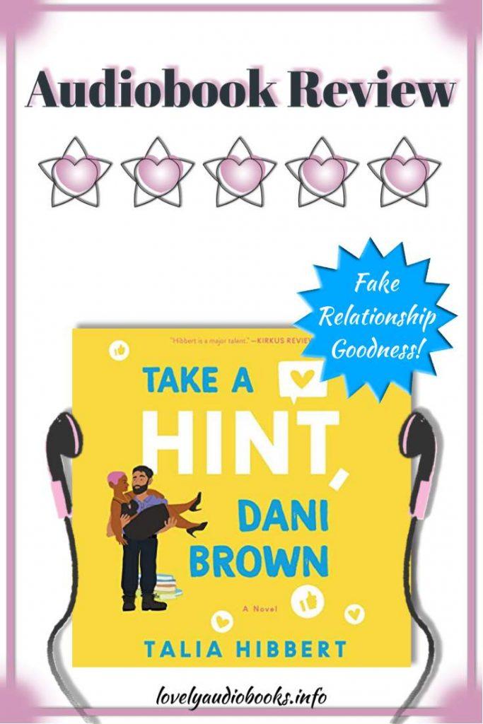 Take a Hint Dani Brown by Talia Hibbert - 5 stars audiobook review