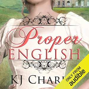 Audiobook cover: Proper English - The Best Lesbian Romance Audiobooks (Historical)