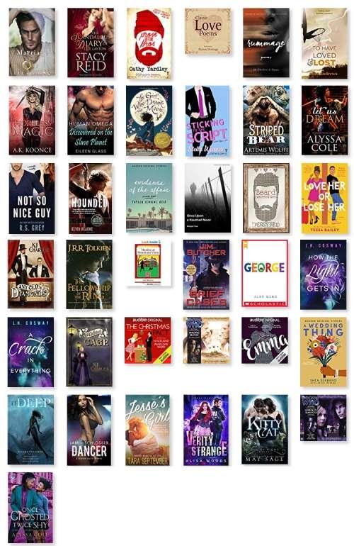 GR Audiobooks January 2020