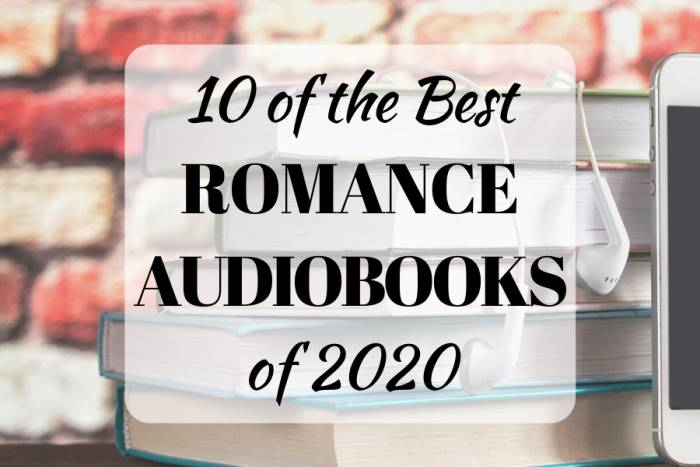 10 of the Best Romance Audiobooks of 2020