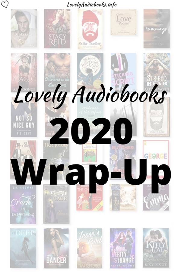 Lovely Audiobooks 2020 Wrap-Up