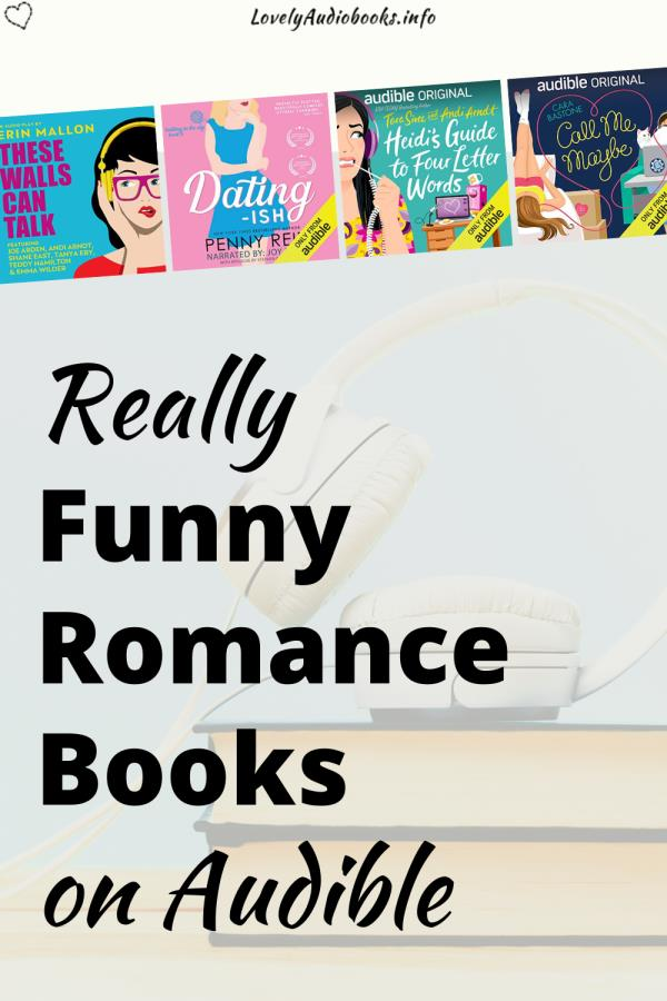 Really Funny Romance Books on Audible