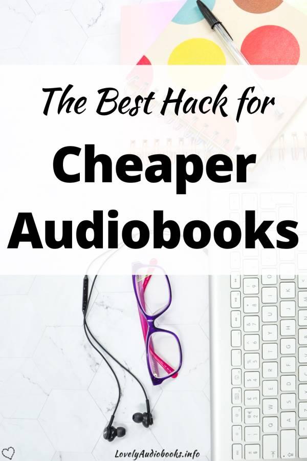 The best hack for cheaper audiobooks