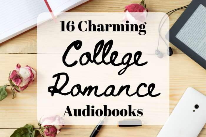 16 Charming College Romance Books on Audible