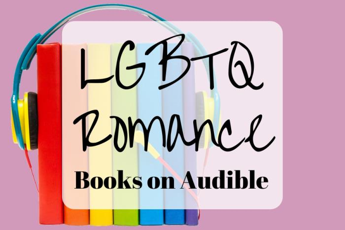 lgbt romance books on audible