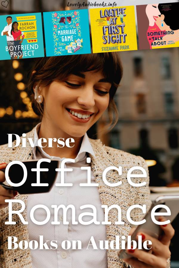 office romance books on audible