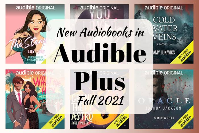 New Audiobooks in Audible Plus - Fall 2021