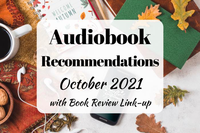 Audiobook Recommendations October 2021
